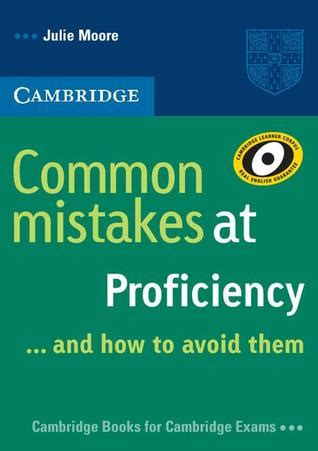 other takes mistakes books common mistakes at proficiency and how to avoid them by