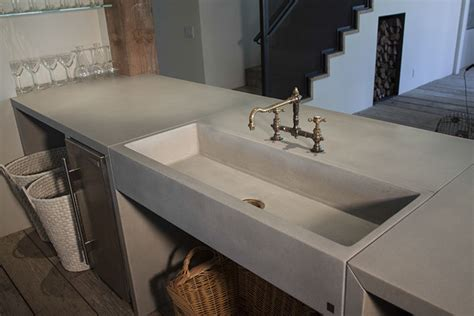 cement kitchen sink sonoma cast concrete sinks concrete kitchen sinks