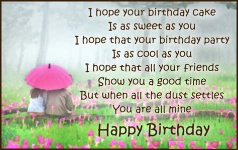 Sweet Birthday Quotes 25 Exclusive Happy Birthday Poems Picshunger