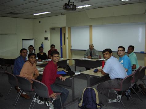 Jcu Singapore Mba by Cook Singapore Mer Class Picture