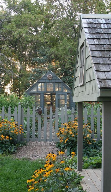 cottage garden sheds ideas  pinterest yard
