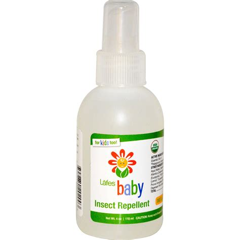 natural mosquito repellents lafe s natural body care baby insect repellent 4 oz