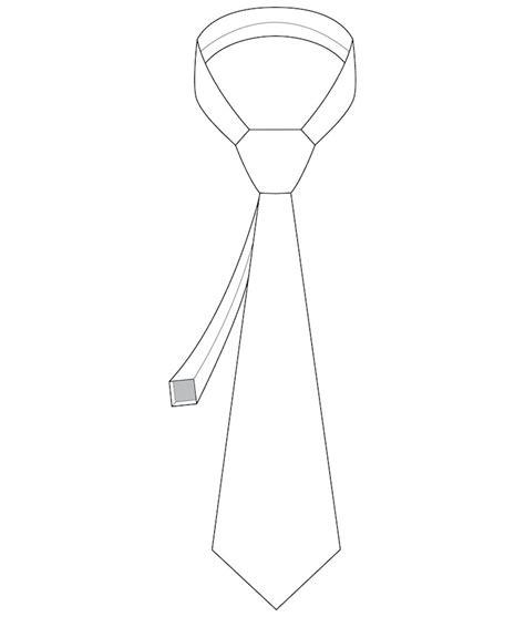mens tie template s necktie 7001 iconic patterns