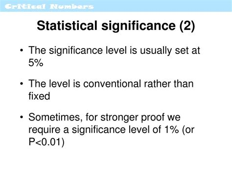 Significance Of L by Ppt Estimation Hypothesis Testing Powerpoint