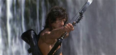 film rambo bow rambo first blood part ii 1985 review basementrejects