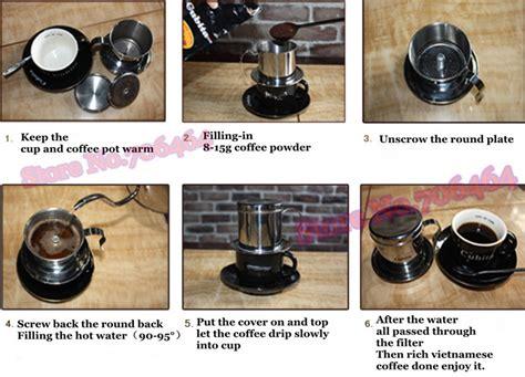 aliexpress vietnam aliexpress com buy vietnam coffee dripper free shipping