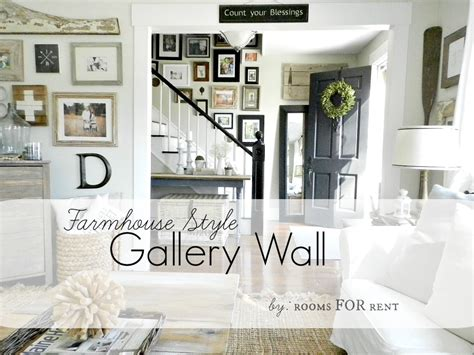 Spare Bedroom Decorating Ideas farmhouse style gallery wall rooms for rent blog