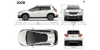 Dimensions Peugeot 2008 Crossover Peugeot 2008 Suv Techniek Bekijk De Motorisaties