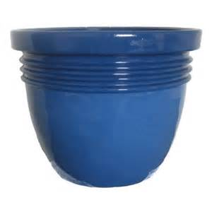 better homes and gardens bombay 20 quot planter blue