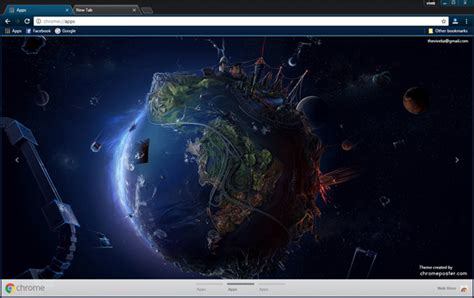 theme google earth earth in pain chrome theme chromeposta