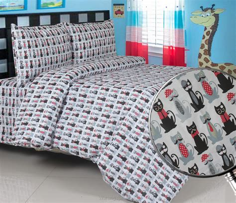 Sprei Motif Anak Cat by Sprei Panca Mr Cat Warungsprei