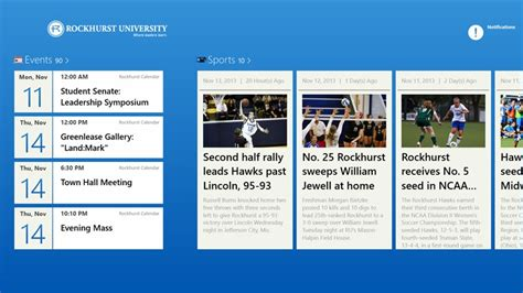 Rockhurst Mba Curriculum by Rockhurst App For Windows In The Windows Store
