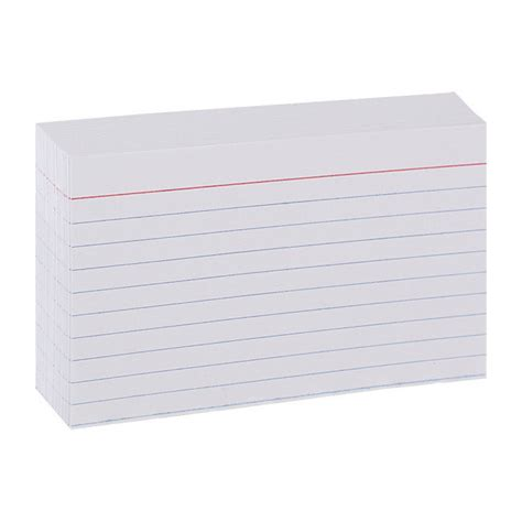 ruled index card template 3x5