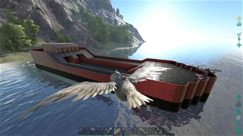 ark boat base builds boat bases we made creative chat ark official