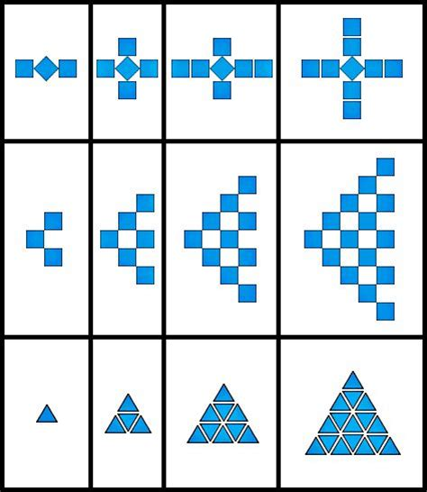 pattern math games 17 best growing patterns images on pinterest math
