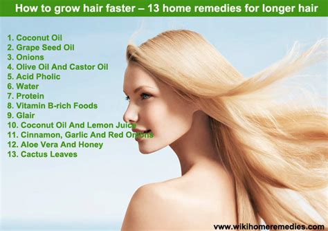how to grow hair faster 13 home remedies for longer hair
