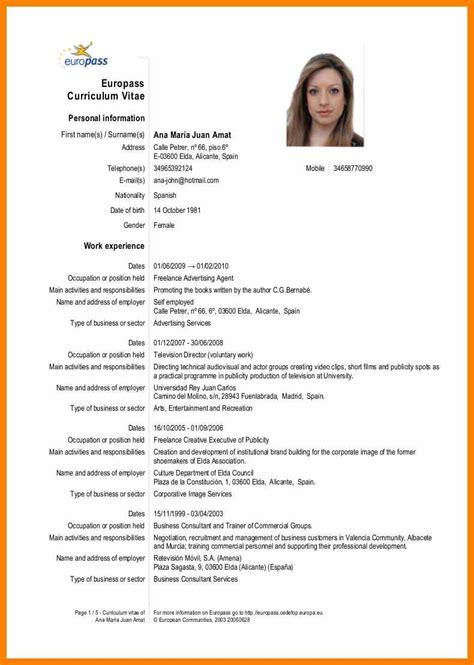 latest cv format 2015 free resume templates