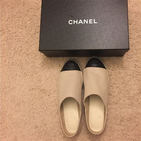 Brand New Chanel Espa Shoes chanel brand new chanel espadrilles new version from s closet on poshmark