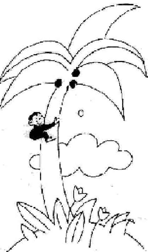 coloring pages of monkeys in trees monkey in tree coloring page
