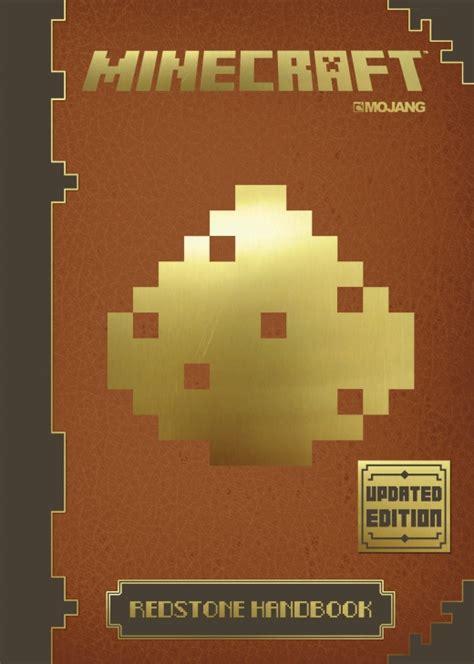 minecraft picture books minecraft redstone handbook updated edition egmont