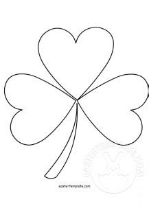 clover flower template easter flowers template archivi easter template