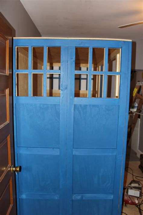 Tardis Bed by Building A Tardis Bed Building A Tardis Bed