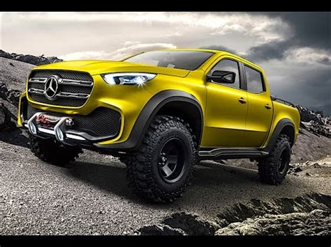 mercedes pickup 2017 mercedes pickup truck 2017 first commercial world premiere