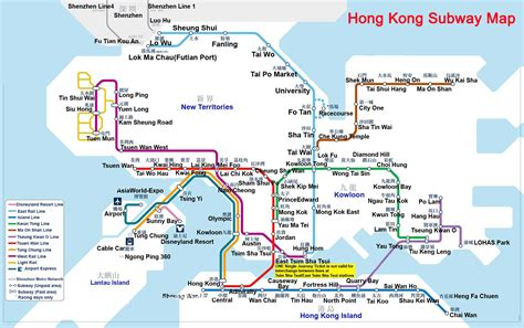 hong kong hong kong maps attractions map lantau island map subway map