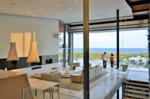 Beach house living room beach style living room new york by west chin architects