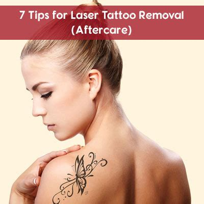 tattoo care advice get laser tattoo removal for the finest results