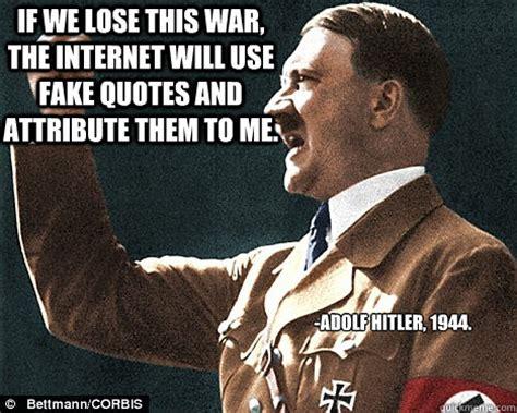 Fake Quotes Meme - fake hitler quotes quotesgram