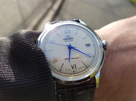 Orient Bambino Automatic Blue orient bambino v2 2 with blue