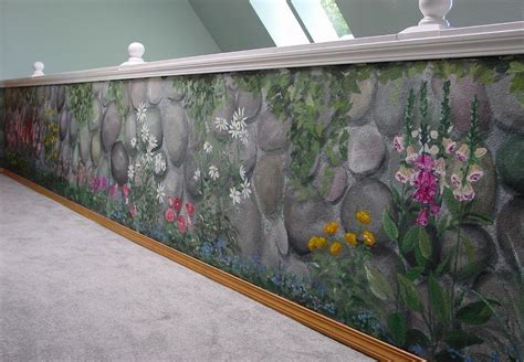 how to paint faux rock wall pictures for barrett paint design wall murals in