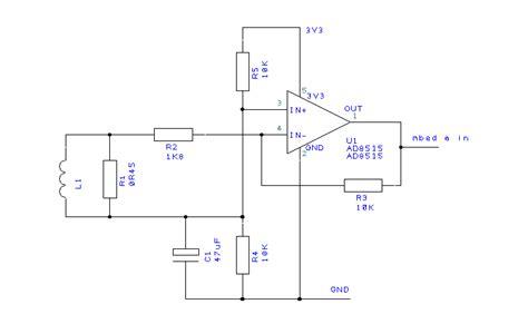 current transformer burden resistor circuit measuring a 0 1v 5a analog input mbed