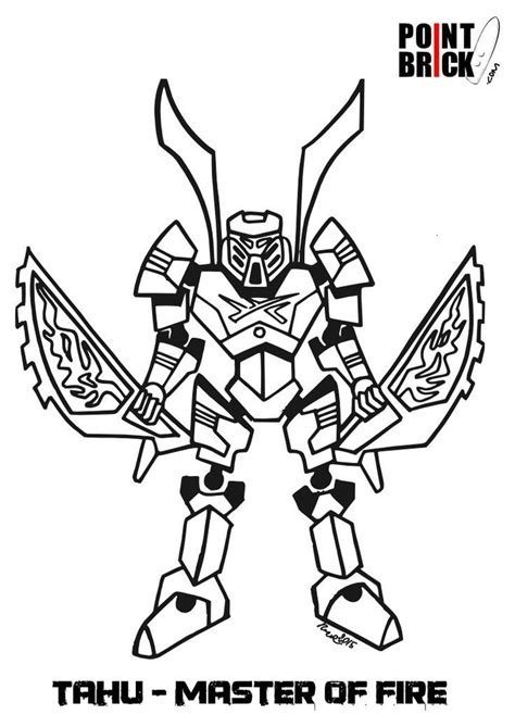 bionicle coloring pages printable az coloring pages