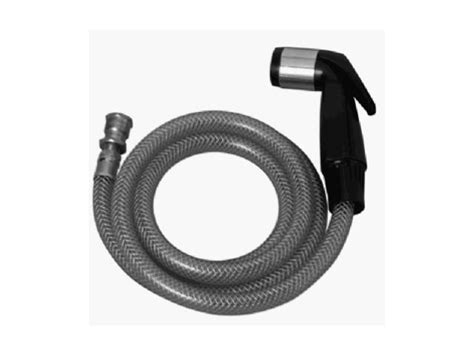 kitchen sink spray hose assembly aqua plumb 1897 black kitchen sink spray hose