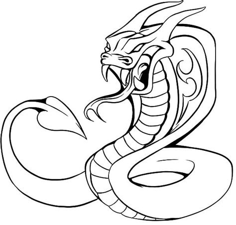 coloring pages king cobra king cobra coloring pages cobra pinterest d