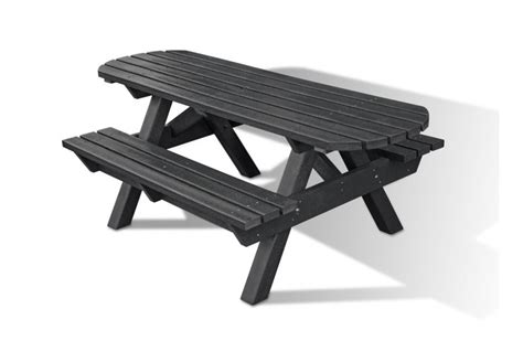 heavy duty picnic bench heavy duty recycled plastic picnic bench extended top