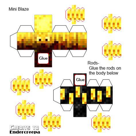 Advanced Papercraft - papercraft mini advanced blaze 3 version the original