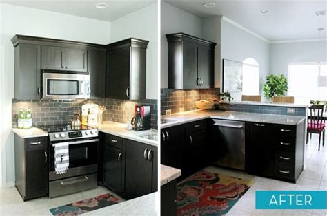 diy black kitchen cabinets wall color with espresso cabinets home design and decor reviews