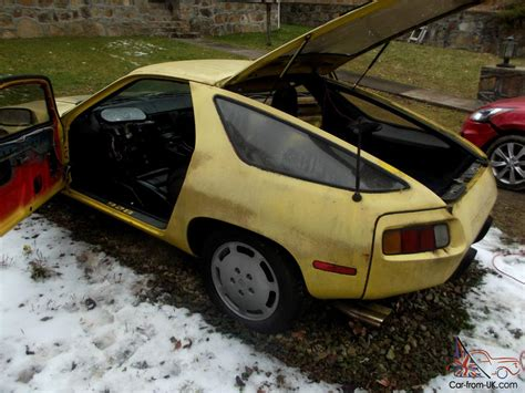 Porsche 928 Spares by 1979 Porsche 928 With Additional Parts Car Which Is A