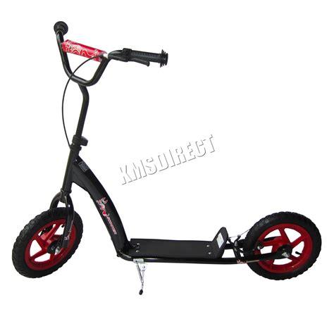 si e enfant scooter foxhunter enfants bmx stunt scooter pousse kick adulte