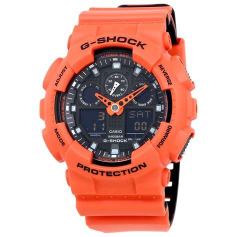 Casi G Shock casio g shock s orange resin multifunction