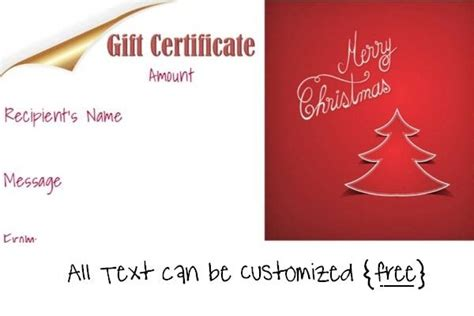 Gift Card Creator Template by 23 Best Gift Certificates Images On