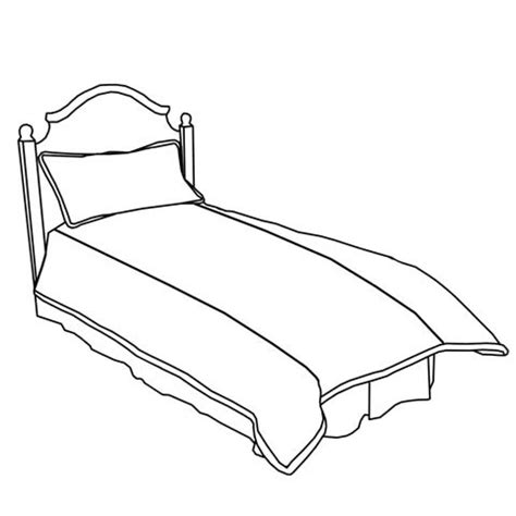 drawing of bed customize girls duvet cover w no panel center