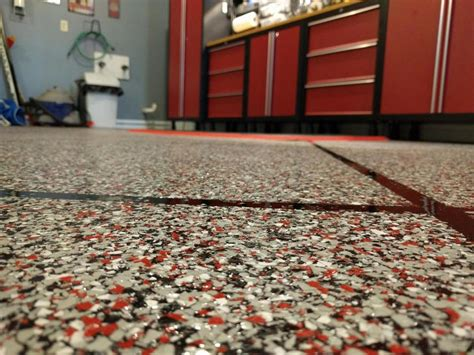 add epoxy floor flakes to your home rome ga alpha omega concrete coatings