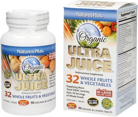 Natures Plus Ultra Juice Multinutrient Supplement 90 Tablets ultra juice 90 tablets nature s plus vitalabo shop uk