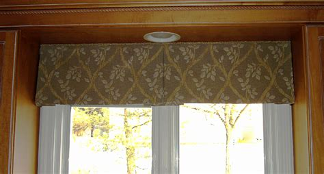 window valances pleated valance patterns