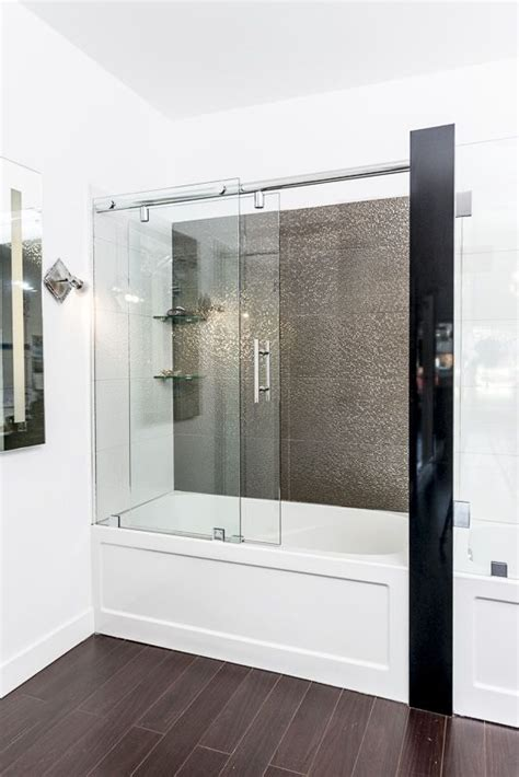 Shower Doors For Bathtub by Bathtub Glass Enclosure Bathtub Enclosures New House