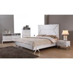 White Modern Bedroom Furniture Modrest Candid Modern White Bedroom Set Modern Bedroom